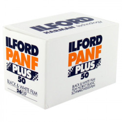 Фотоплёнка Ilford PanF Plus 50 135