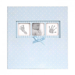 Альбом Innova Baby Polka Q4103613M голубой с карманами 10x15 (200 фото)