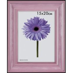 Фоторамка МЕТРИКА Полина 15x20, розовая