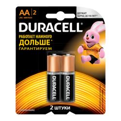 Батарейки Duracell LR6-2BL (AA) basic- 2 штуки