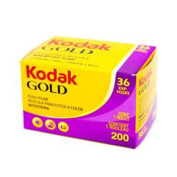 Фотоплёнка Kodak Gold 200x36