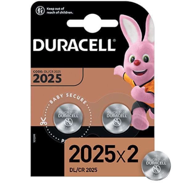 Батарейки Duracell CR2025 - 2 штуки