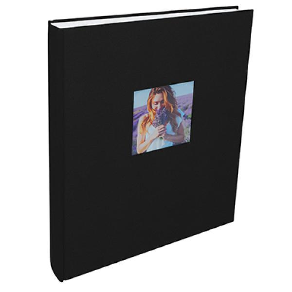 Альбом Henzo Mika 11.320.08 чёрный для наклеивания (100 стр.)